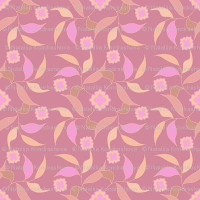 Flower ornament 15