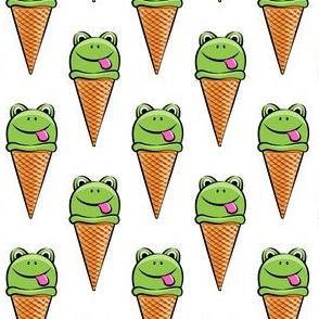 frog icecream cones OG
