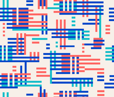 Albers Bauhaus fabric by megdig_design on Spoonflower - custom fabric