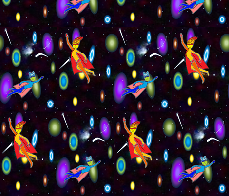 Space Explorers fabric by b2b on Spoonflower - custom fabric