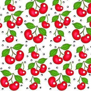 My Cherry Delight -on white