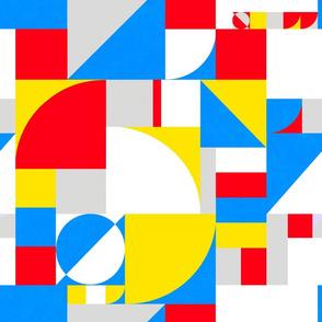 Bold Bauhaus Brights