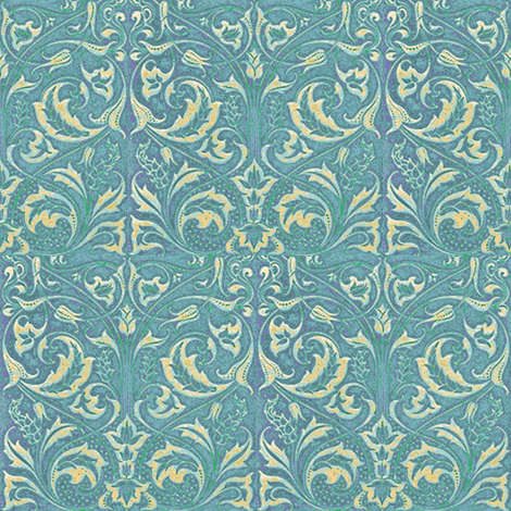 Peacock Sensibility fabric by amyvail on Spoonflower - custom fabric