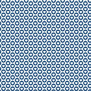 Heart seamless pattern. Fashion graphic background design