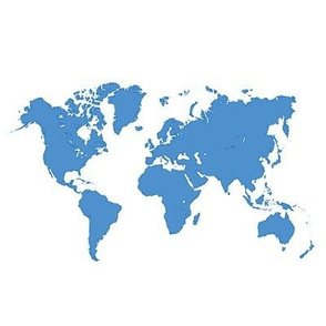 World map_blue_8in repeat