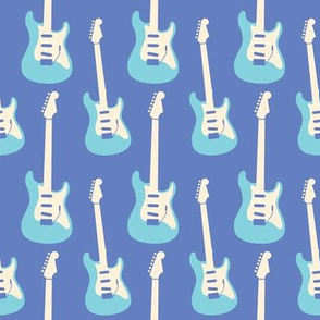 Princess Stratocaster- Blue
