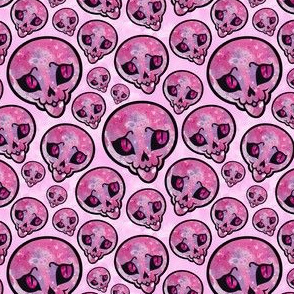 Sweet Skulls - Pink and Purple