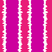 Scribble Stripe in Magnificent Magenta