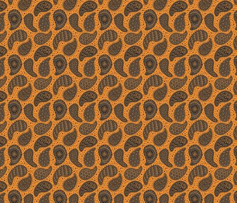 monster paisley e 4x4 fabric by leroyj on Spoonflower - custom fabric