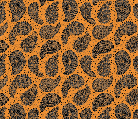 monster paisley e 8x8 fabric by leroyj on Spoonflower - custom fabric