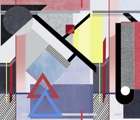 Bauhaus movement fabric daria krawczyk spoonflower for Bauhaus design shop