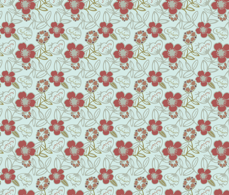Polynesian Flowers Finals v2-04 fabric by the_wookiee_workshop on Spoonflower - custom fabric