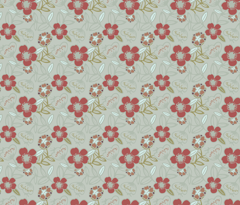 Polynesian Flowers Finals v2-05 fabric by the_wookiee_workshop on Spoonflower - custom fabric