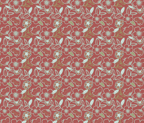 Polynesian Flowers Finals v2-06 fabric by the_wookiee_workshop on Spoonflower - custom fabric