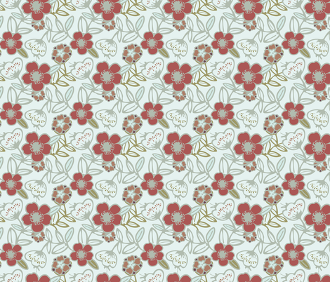 Polynesian Flowers Finals v2-10 fabric by the_wookiee_workshop on Spoonflower - custom fabric