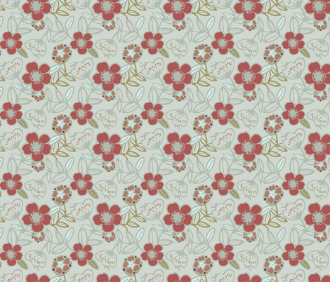 Polynesian Flowers Finals v2-11 fabric by the_wookiee_workshop on Spoonflower - custom fabric
