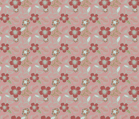 Polynesian Flowers Finals v2-12 fabric by the_wookiee_workshop on Spoonflower - custom fabric