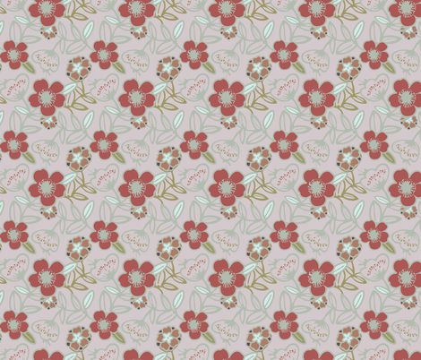 Polynesian Flowers Finals v2-13 fabric by the_wookiee_workshop on Spoonflower - custom fabric
