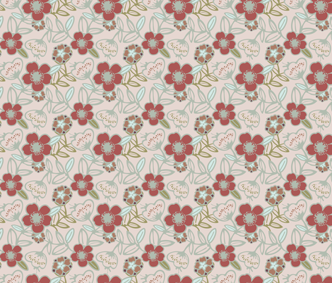 Polynesian Flowers Finals v2-14 fabric by the_wookiee_workshop on Spoonflower - custom fabric