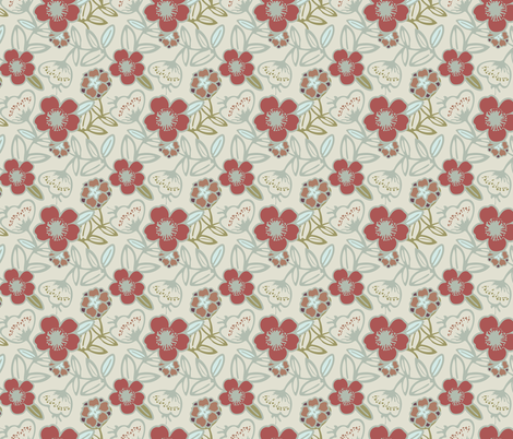 Polynesian Flowers Finals v2-15 fabric by the_wookiee_workshop on Spoonflower - custom fabric