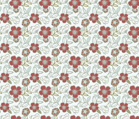 Polynesian Flowers Finals v2-16 fabric by the_wookiee_workshop on Spoonflower - custom fabric