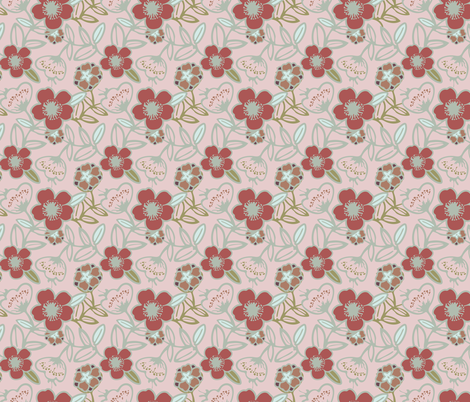 Polynesian Flowers Finals v2-18 fabric by the_wookiee_workshop on Spoonflower - custom fabric