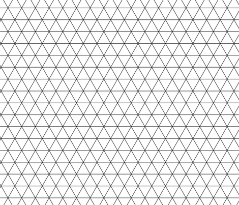 triangles basic_1-02 fabric by thepoonapple on Spoonflower - custom fabric