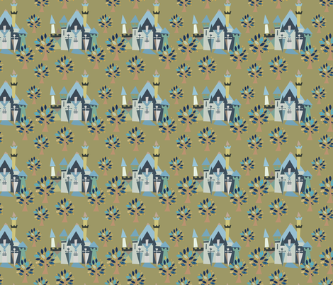 Castle v3-03 fabric by the_wookiee_workshop on Spoonflower - custom fabric