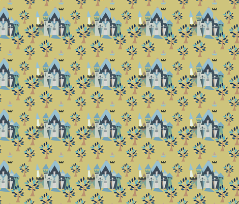 Castle v3-05 fabric by the_wookiee_workshop on Spoonflower - custom fabric