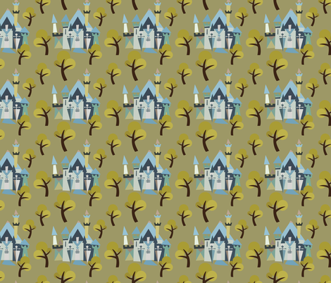 Castle v3-09 fabric by the_wookiee_workshop on Spoonflower - custom fabric