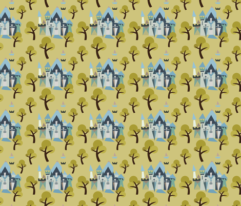 Castle v3-11 fabric by the_wookiee_workshop on Spoonflower - custom fabric