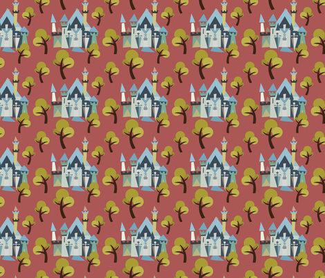 Castle v3-12 fabric by the_wookiee_workshop on Spoonflower - custom fabric