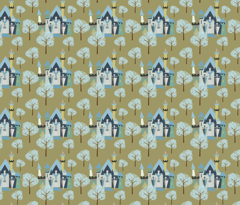 Castle v3-15 fabric by the_wookiee_workshop on Spoonflower - custom fabric