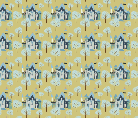 Castle v3-17 fabric by the_wookiee_workshop on Spoonflower - custom fabric