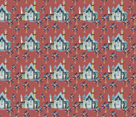 Castle v3-18 fabric by the_wookiee_workshop on Spoonflower - custom fabric