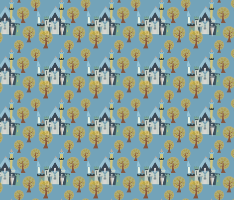 Castle v3-19 fabric by the_wookiee_workshop on Spoonflower - custom fabric