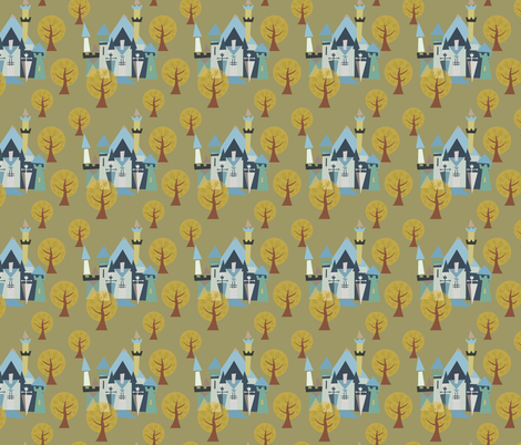 Castle v3-21 fabric by the_wookiee_workshop on Spoonflower - custom fabric