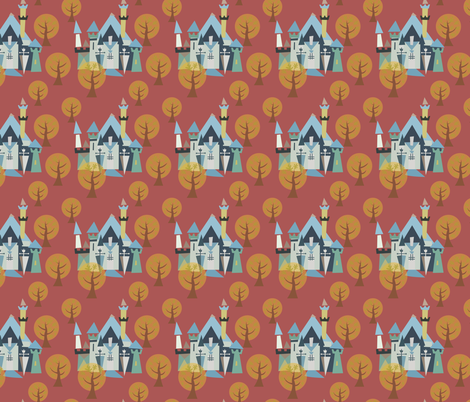 Castle v3-24 fabric by the_wookiee_workshop on Spoonflower - custom fabric