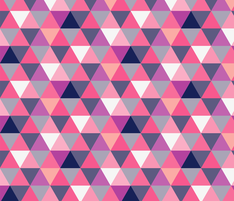 triangles basic_colour opt2-02 fabric by thepoonapple on Spoonflower - custom fabric