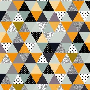 .triangles mustard.