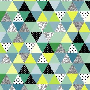 .triangles greenies.