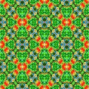 Hidden Green Jeweled Hearts