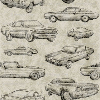 Muscle Cars - Dirt