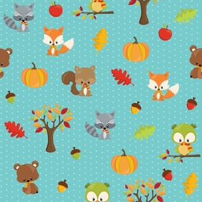 Fall Animals
