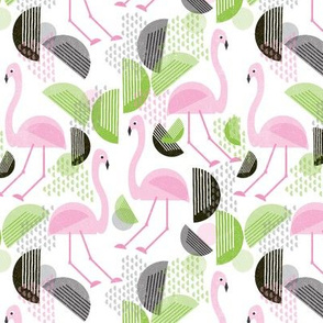 Flamingo Dance, Bauhaus Style, small