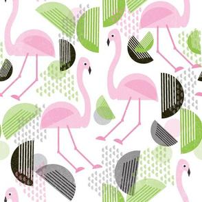 Flamingo Dance, Bauhaus Style