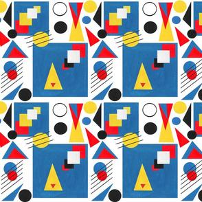 Bauhaus Paper Cut-outs