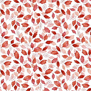 Leaves coordinate red