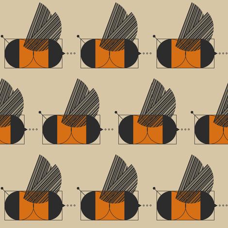 Bauhaus Buzz fabric by ruth_robson on Spoonflower - custom fabric