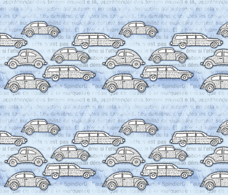 modern stream fabric by sandra_bereg on Spoonflower - custom fabric